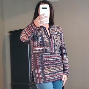 Tory Burch Wool Tunic Sweater